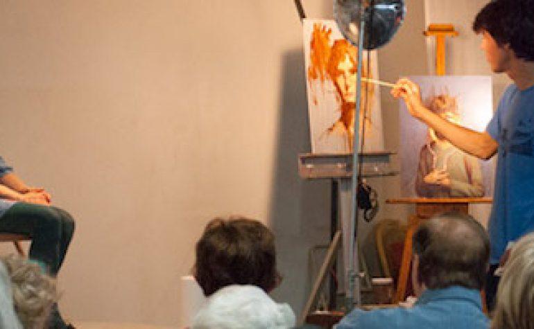 "Portrait Demonstrations: Seth Haverkamp's Evolution to a ""Thinking Artist"""
