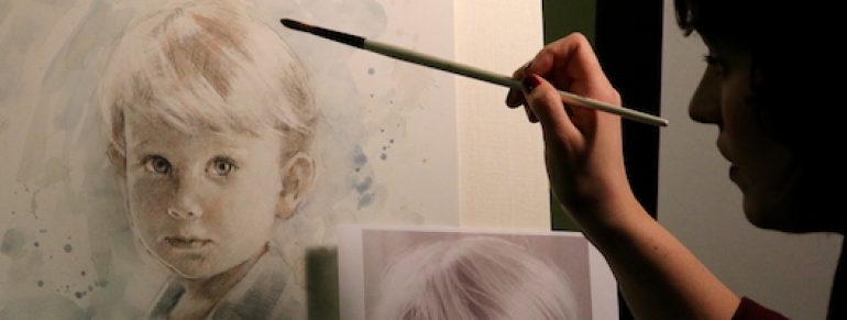 Portrait Demonstrations: The Personal Approach of Liz Lidström