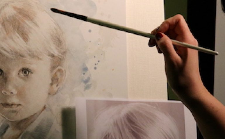 Portrait Demonstrations: The Personal Approach of Liz Lidström