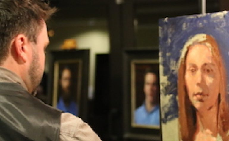 Portrait Demonstrations: Thomas Caleb Goggans