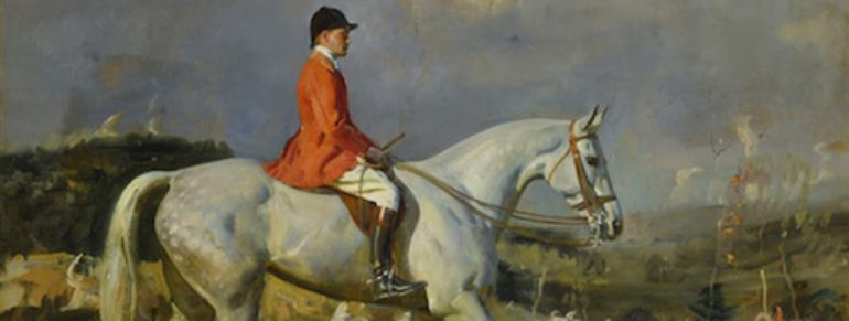 Art History: A Sporting Artist's Approach to Portraiture—Sir Alfred Munnings
