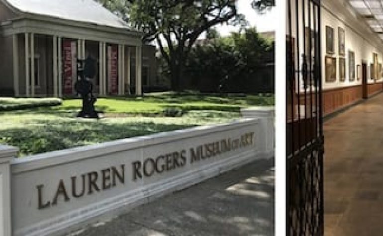 Art History: Part II Discovering Masterworks Nearby—The Lauren Rogers Museum of Art in Laurel, MS