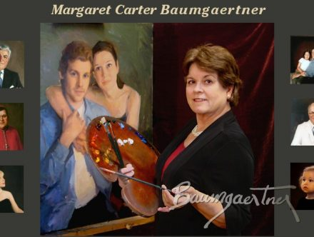 """Wed, April 24, 2019 – PLEASE NOTE DIFFERENT DATE (Rescheduled from March) """"A Simple Approach to Elegant Paintings"""" – Margaret Carter Baumgaertner"""