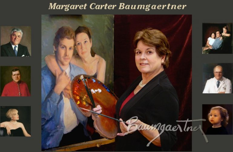 Wed, April 24, 2019 – PLEASE NOTE DIFFERENT DATE (Rescheduled from March) An Evening Demo with Margaret Carter Baumgaertner