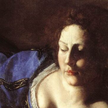 detail of Judith beheading Holofernes