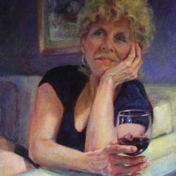 Lynne Brice, Self Portrait