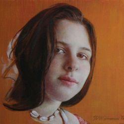 Portrait - Cowrie Shells