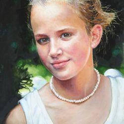 Mary Villon de Benveniste - Oil painting